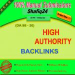 Manually Create 50 High PR1-PR9 OR DA 30+ Highly Quality BACK-LINKS