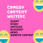 Premium Comedy Story Script Content Writing Service