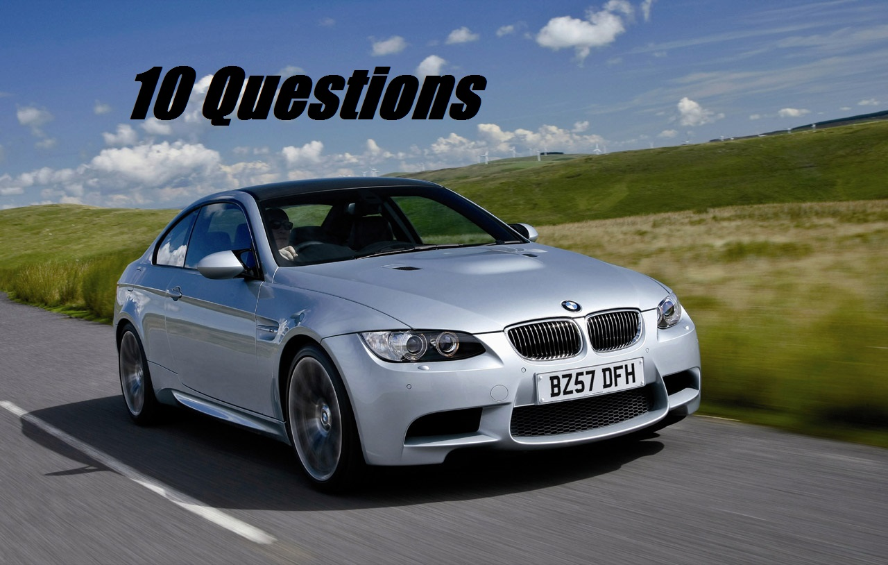 I need 10 Questions on my UK Car Q&A Site!